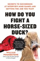 How Do You Fight A Horse-sized Duck?