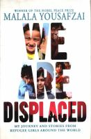 Cover of We Are Displaced: My Journ