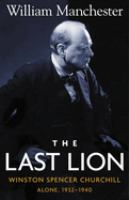 Last lion, Winston Spencer Churchill