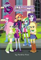 My Little Pony: Equestria Girls: Friendship to Remember