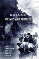 Crimes and Mercies