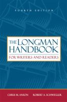 The Longman Handbook for Writers and Readers