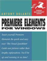 Premiere Elements for Windows