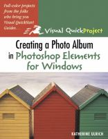 Creating A Photo Album in Photoshop Elements for Windows