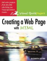 Creating A Web Page With HTML