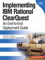Implementing IBM Rational ClearQuest