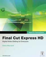 Final Cut Express HD