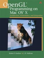 OpenGL Programming on Mac OS X