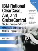 IBM Rational ClearCase, Ant, and CruiseControl