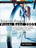 Start-to-finish Visual Basic 2005