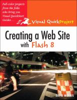 Creating A Web Site With Flash 8