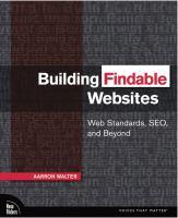 Building Findable Websites