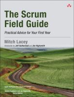 The scrum field guide : practical advice for your first year
