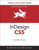 InDesign CS5 for Windows and Macintosh
