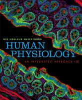 Human Physiology An Integrated Approach (text - 6th)
