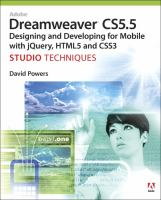 Adobe Dreamweaver CS5.5