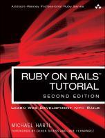 Ruby on Rails Tutorial