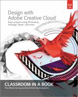 Design With Adobe Creative Cloud