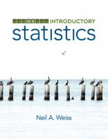 Introductory Statistics (text - 10th)