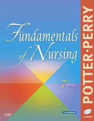 """Picture of book cover for """"Fundamentals of Nursing"""""""