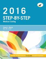 2016 Step-by-step Medical Coding