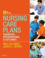 Nursing Care Plans (9th)