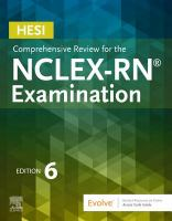 HESI Comprehensive Review for the NCLEX-RN Examination