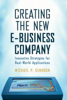 Creating the New E-business Company