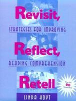 Revisit, Reflect, Retell