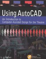 Using AutoCAD