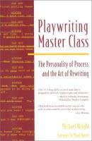 Playwriting Master Class