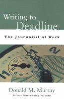 Writing To Deadline