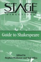 The Stage Directions Guide to Shakespeare