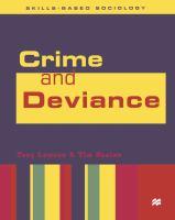 Crime & Deviance