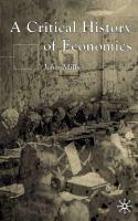 A Critical History of Economics