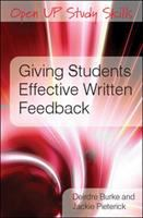 Giving Students Effective Written Feedback