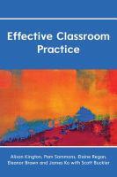 Effective Classroom Practice