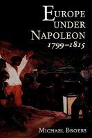 Europe Under Napoleon 1799-1815