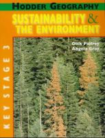 Sustainability & the Environment