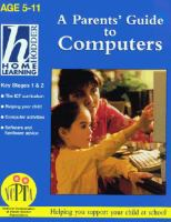 A Parents' Guide to Computers