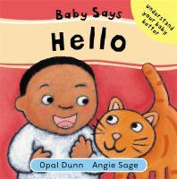 Baby Says Hello
