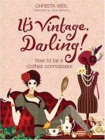 It's Vintage, Darling!