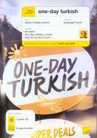One-day Turkish