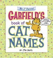 New & Improved Garfield's Book of Cat Names