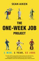 The One-week Job Project