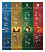 George R.R. Martin's A Game of Thrones 4 Book Collection