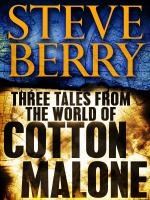 Three Tales From the World of Cotton Malone