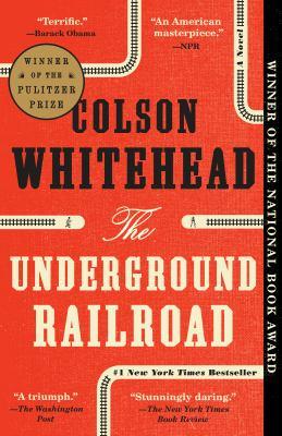 Whitehead Book club in a bag. The underground railroad a novel.