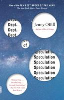 Dept. of Speculation [GRPL Book Club]