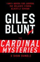 John Cardinal Mysteries 3-book Bundle